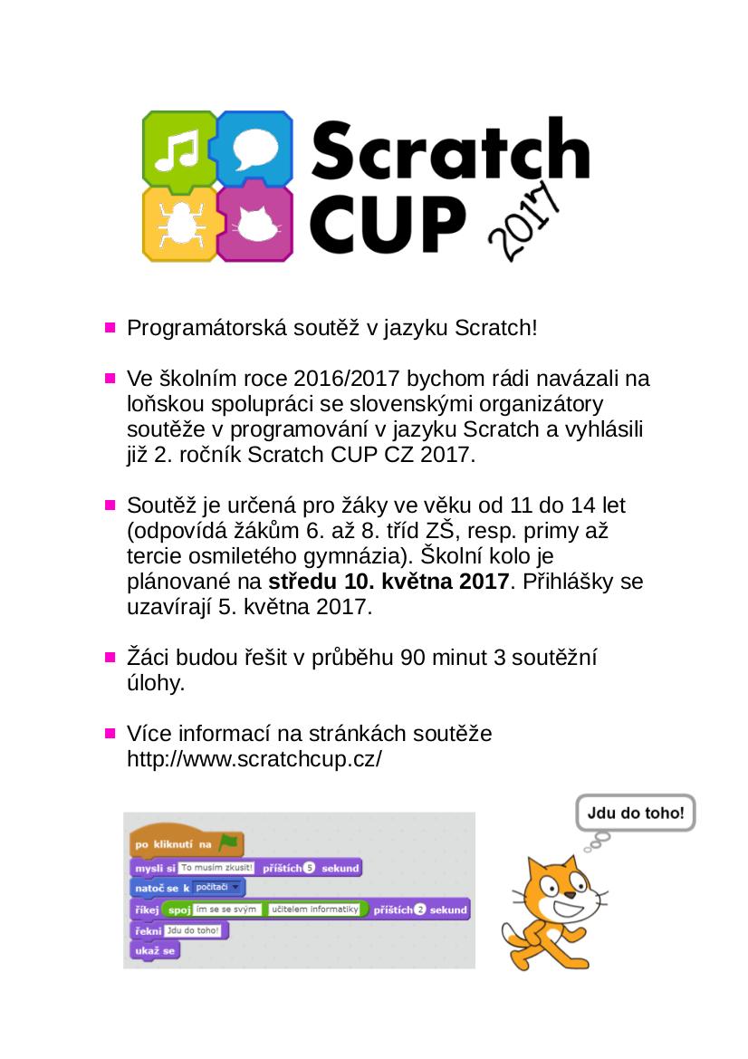 Plakátek Scratch2017